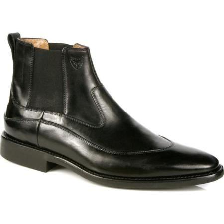 0e6996978 Sapato Side Gore estilo butina   SAPATO MASCULINO   Sapato social ...