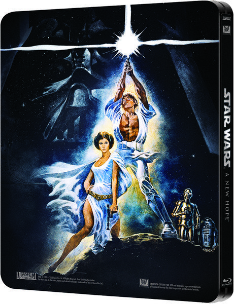 Star Wars Episode Iv A New Hope Steelbook Blu Ray Review Episode Iv A New Hope Star Wars