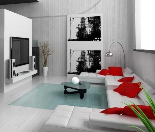 Elige los mejores cojines para tu sala minimalista for Salas minimalistas modernas