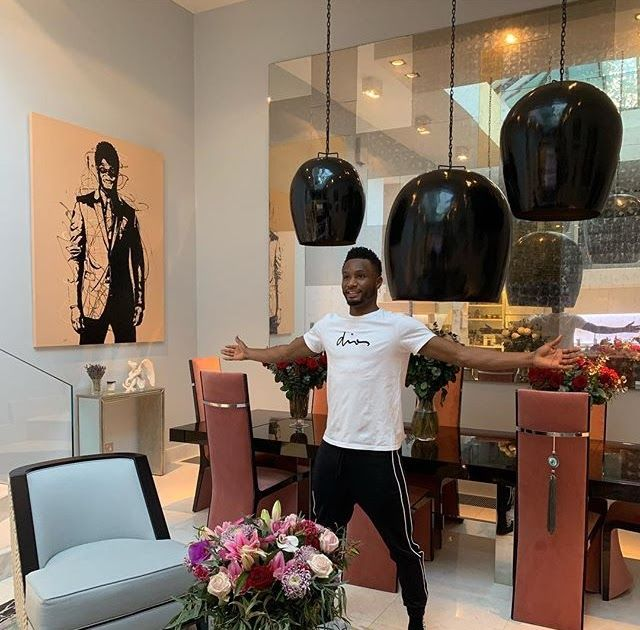 Mikel obi flaunts his beautiful home interior design nigerian professional footballer john as gone over the internet to show off also rh pinterest