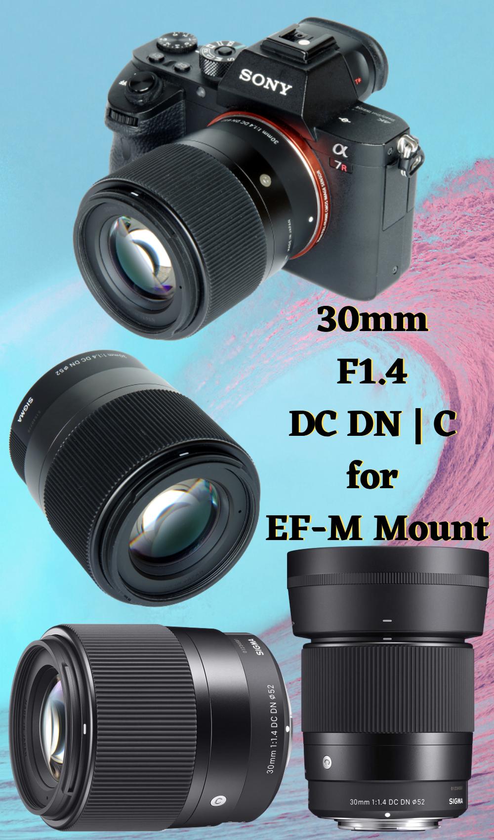 30mm F1 4 Dc Dn C For Ef M Mount Best Camera Lenses Travel Camera Bag Best Camera