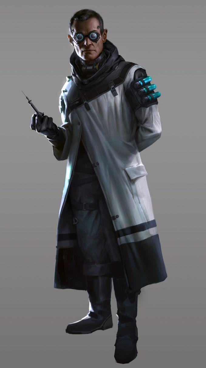 Clone Costume Inspi My Clone Cyberpunk Character