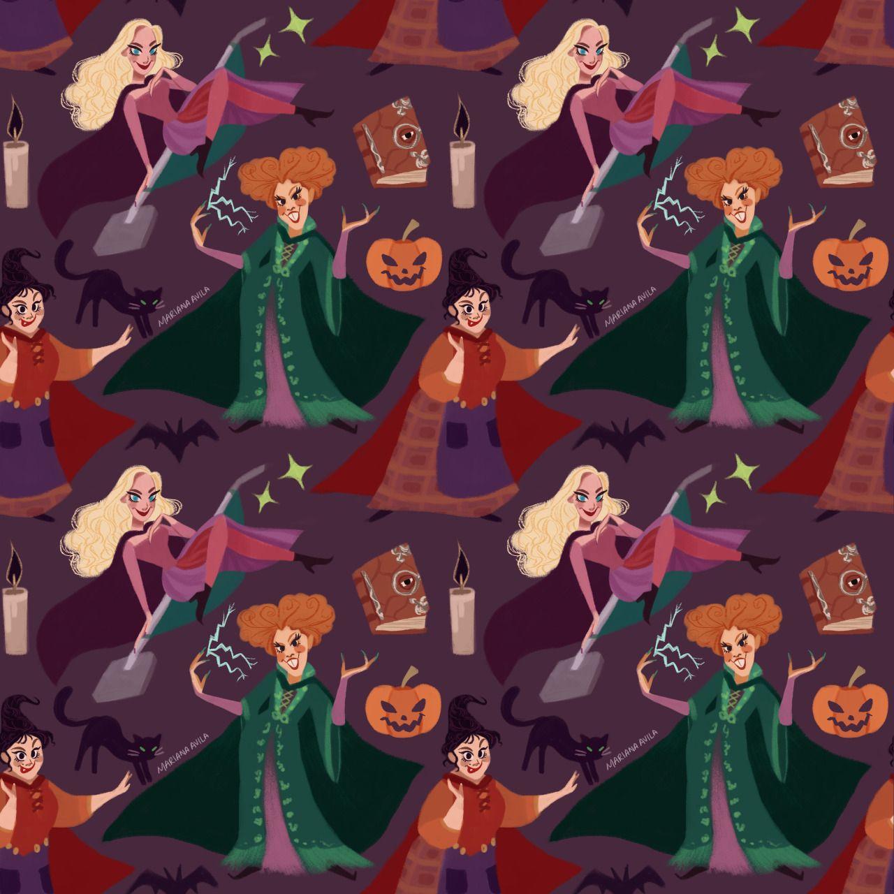 Hocus Pocus Tumblr Halloween Wallpaper Iphone Halloween Wallpaper Witch Wallpaper