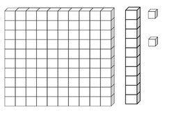 Images des centaines, dizaines et unités | Dizaines et unités, Mathématiques montessori et Unité ...