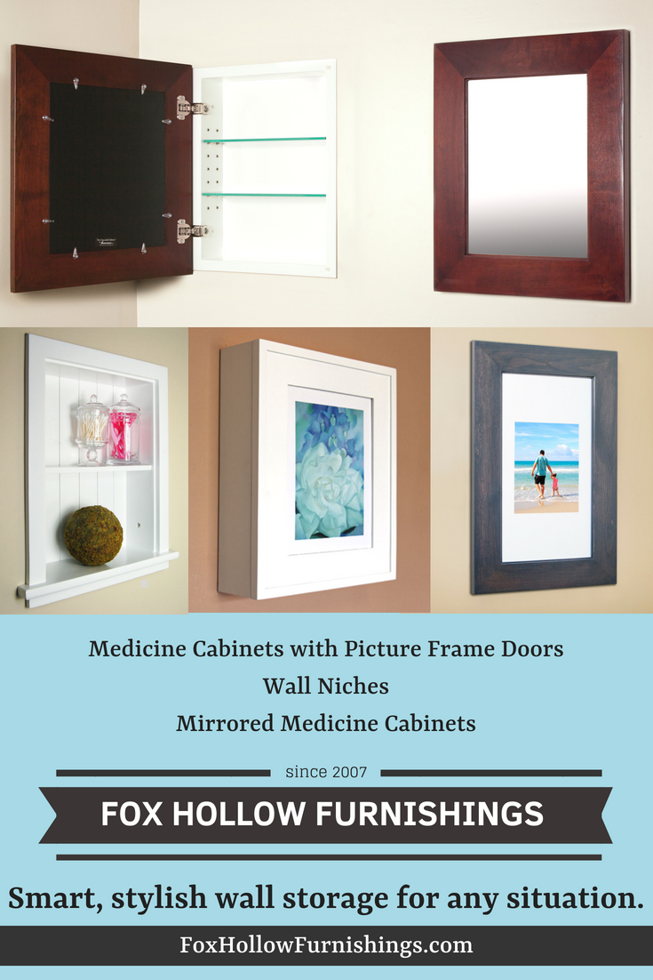 From Mirrored Medicine Cabinets To Wall Niches To Wall Mount