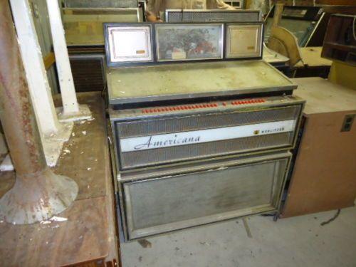 Wurlitzer Americana Jukebox Model 3100 Circa 1966 Stuff