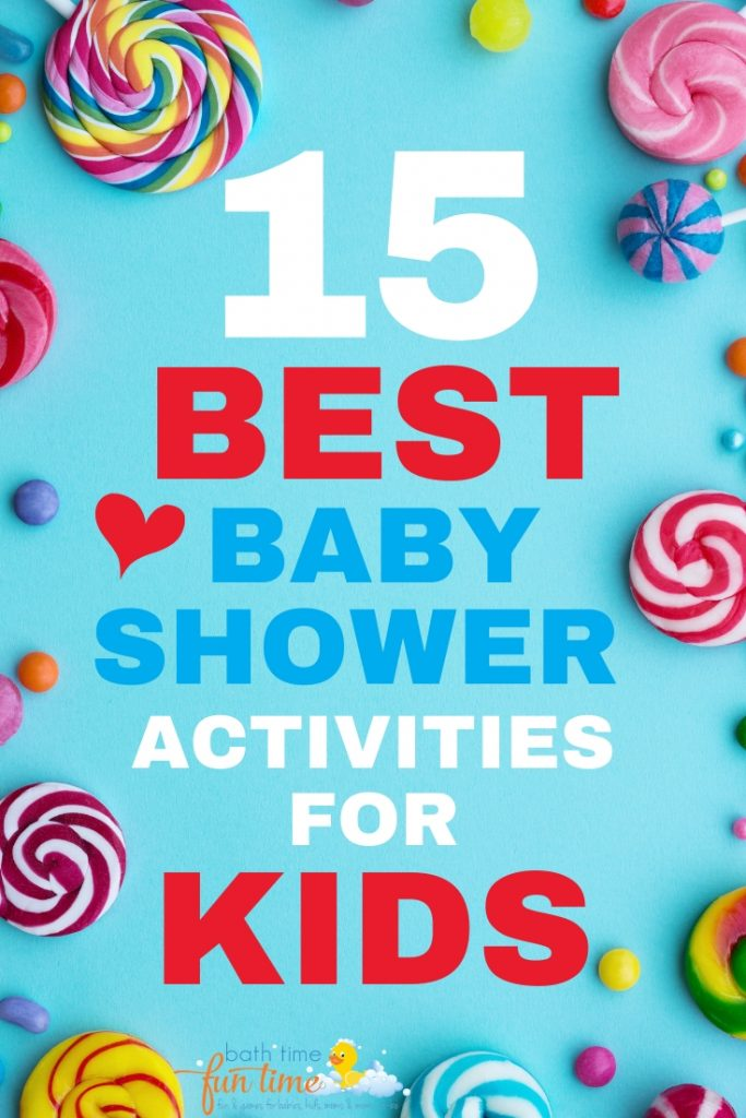 15 Best Easy Baby Shower Activities For Kids – Easy Fun Ideas For Kids