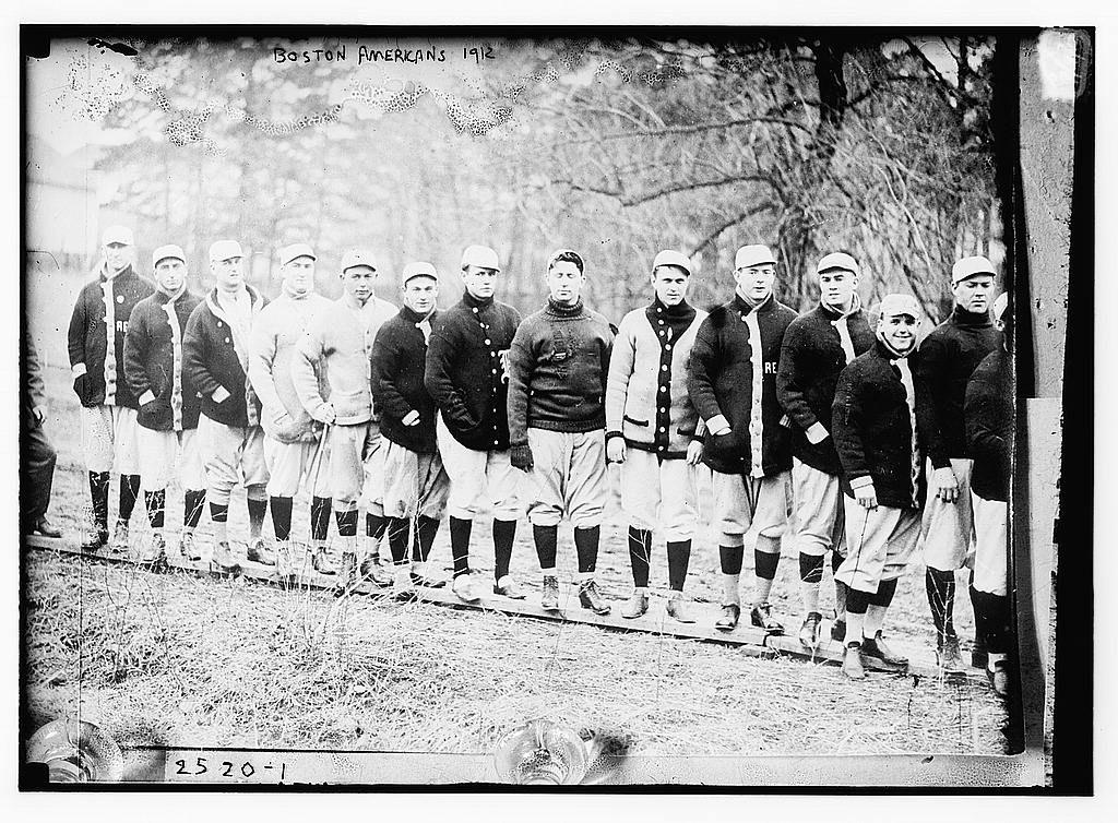 Red Sox at spring training, Hot Springs, AR - 1912