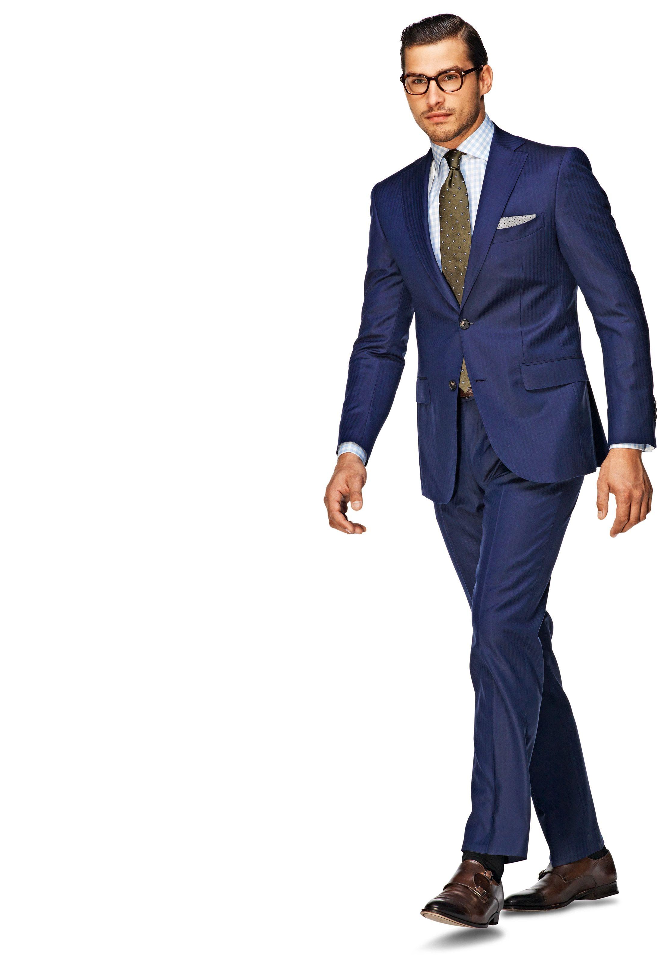 Suit Blue Stripe Sevilla P3471   Suitsupply Online Store   Hubby ...