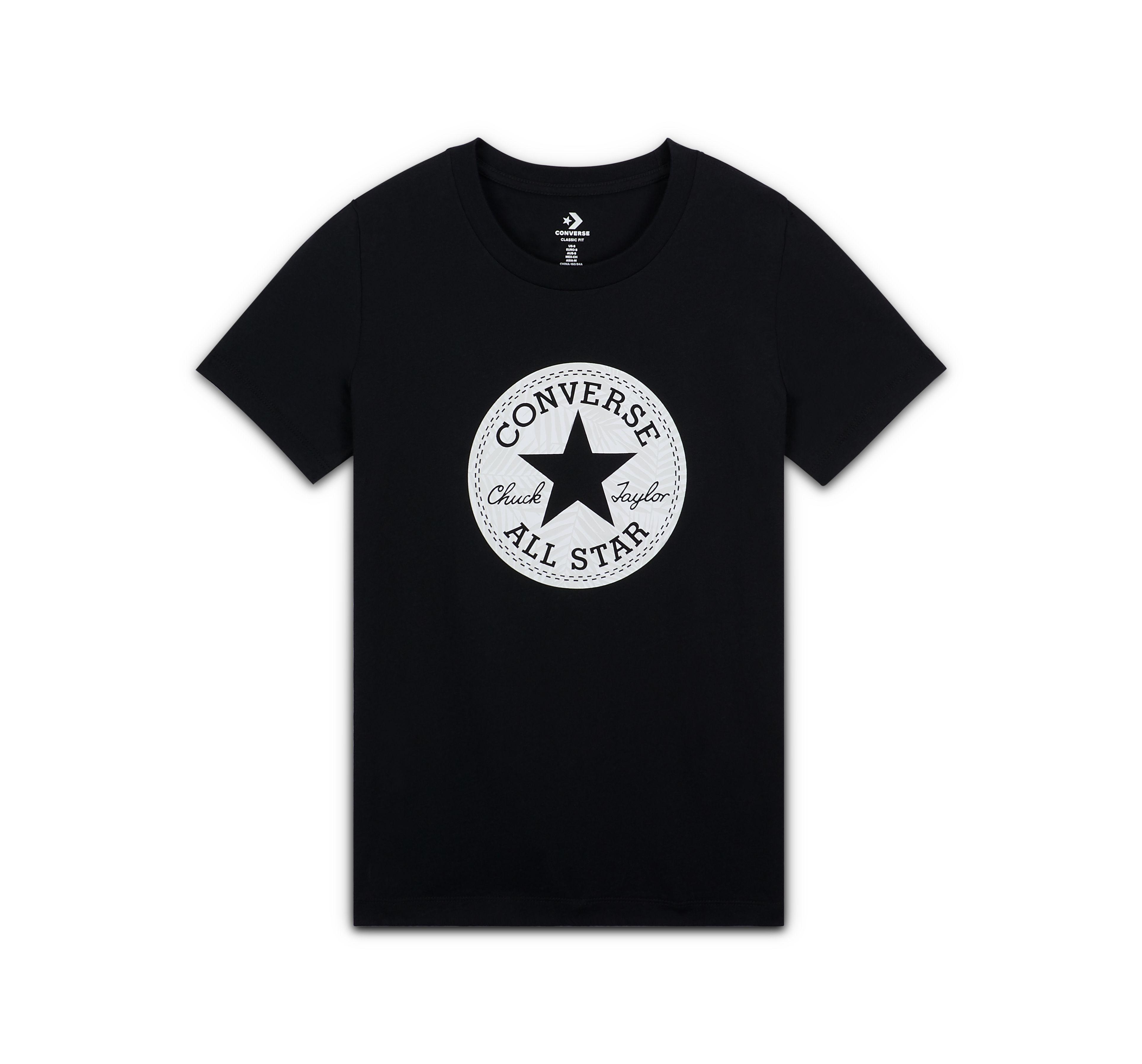 converse chuck taylor patch t shirt
