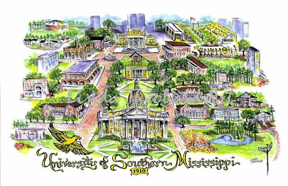 University Of Southern Mississippi >> Pin On Smttt