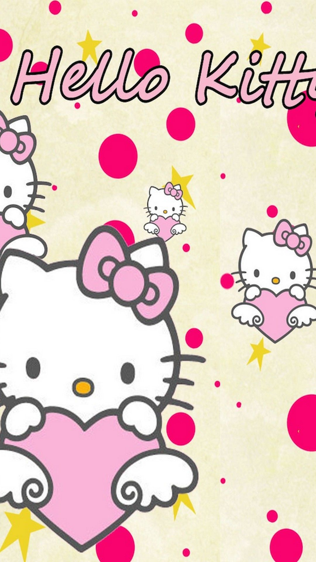 Sanrio Hello Kitty Hd Wallpaper For Iphone Hello Kitty Wallpaper