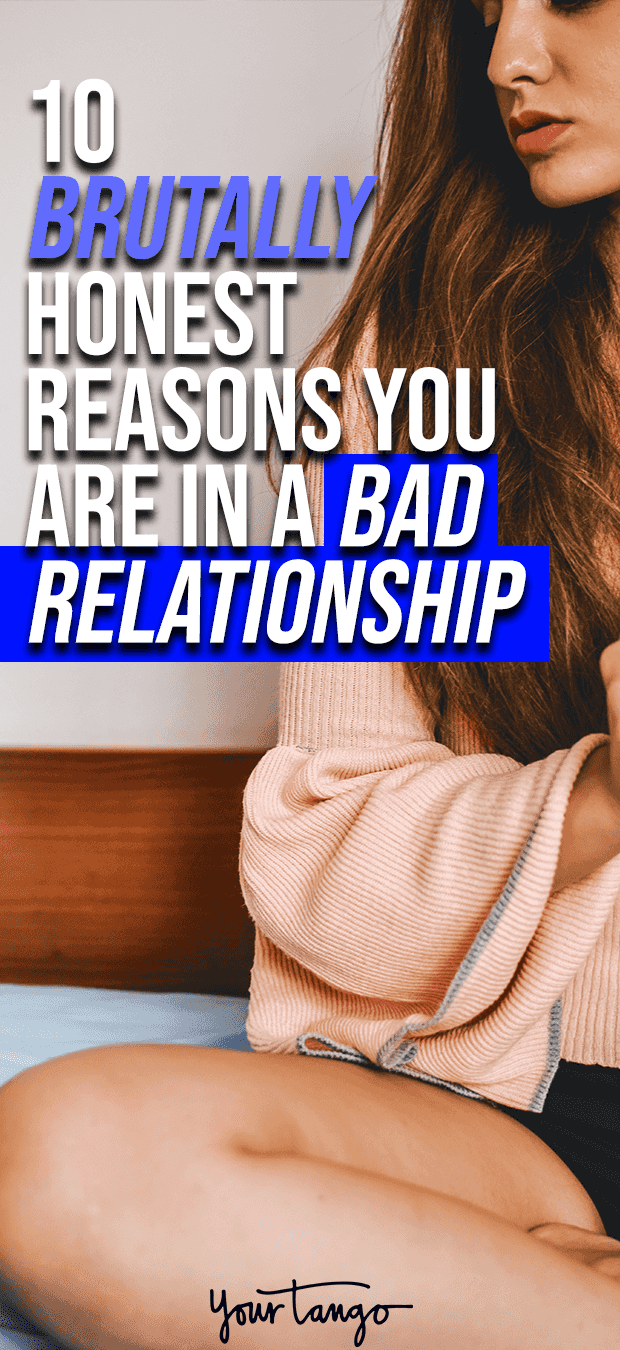 Honest reasons why you don't have a serious relationship