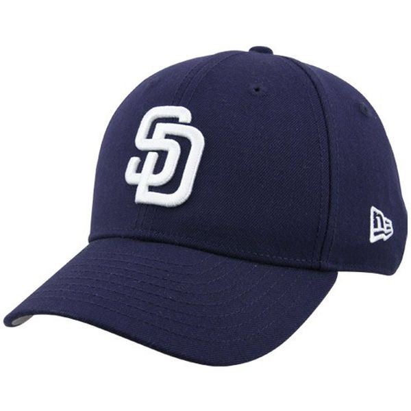Youth San Diego Padres New Era Navy The League 9FORTY Adjustable Hat ... ca3c8ca299a1