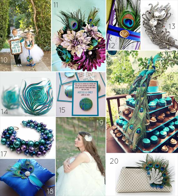 Peacock Wedding Ideas Wedding Themes Emmaline Bride Peacock Wedding Peacock Wedding Theme Peacock Wedding Colors