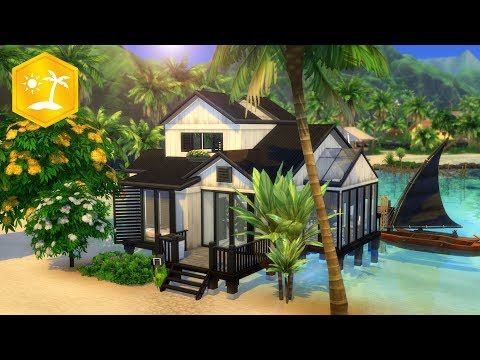 Photo of MODERN BEACH HOUSE // Sims 4 Speed Build