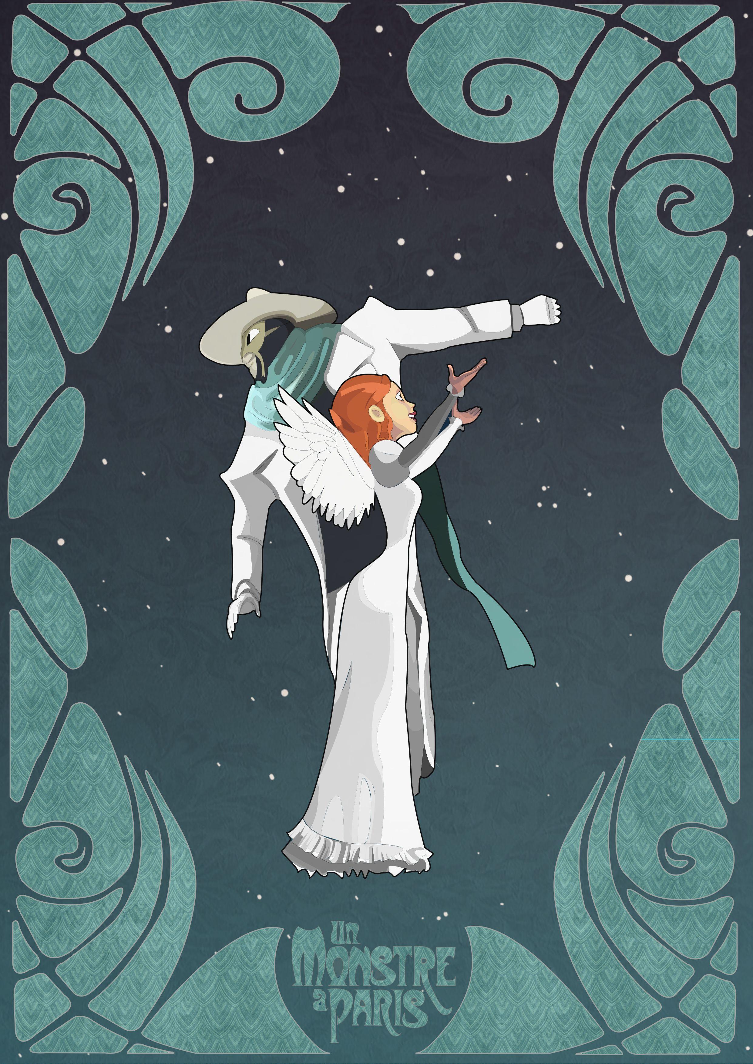 Art Nouveau Movie Poster