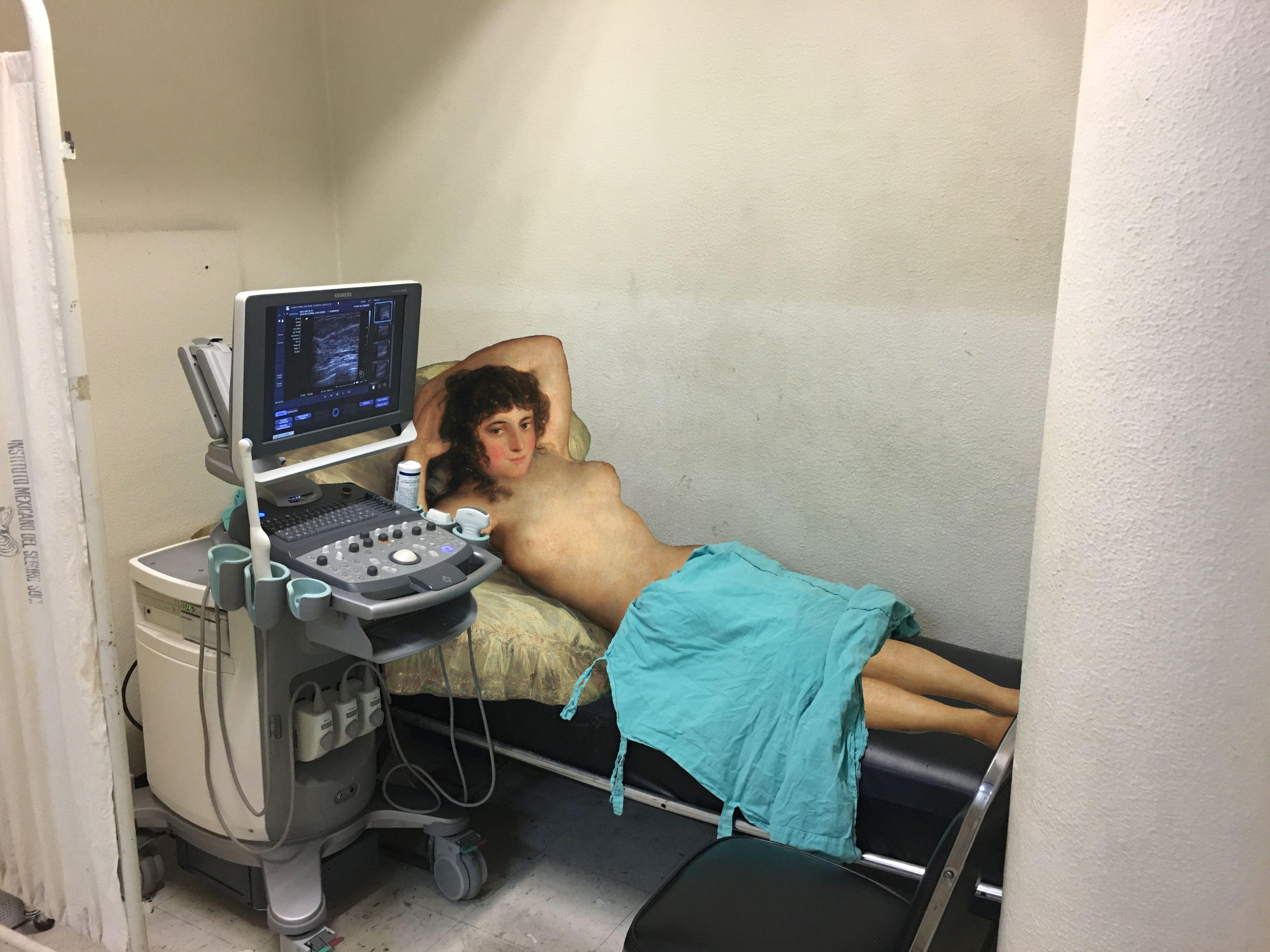 La maja en ultrasonido Francisco de Goya / Dr. Marquez | Rayos X ...