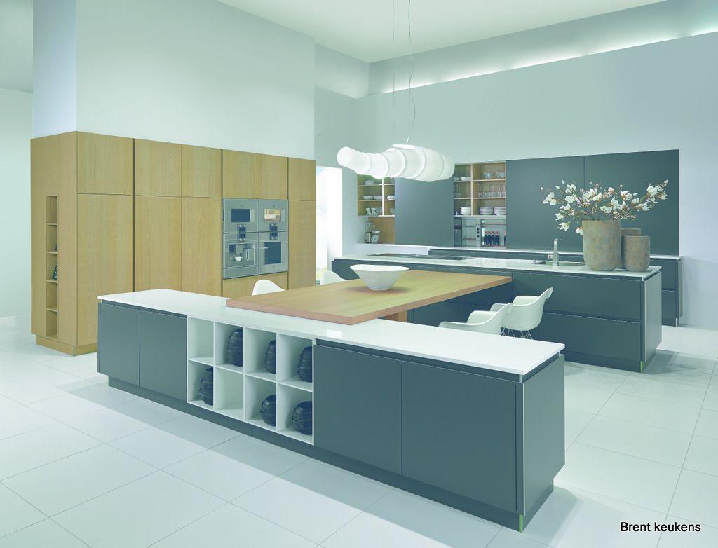 Brent keuken keukentrend  modern kitchen