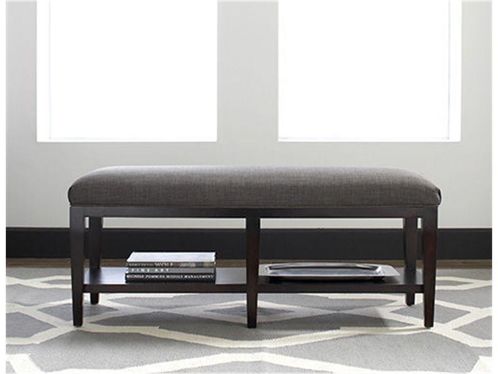 bed bench | Braxton Culler Bedroom Preston Bed Bench 5816-094 at ...