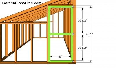 Lean-to Greenhouse Plans | Free Garden Plans - How to build garden ...