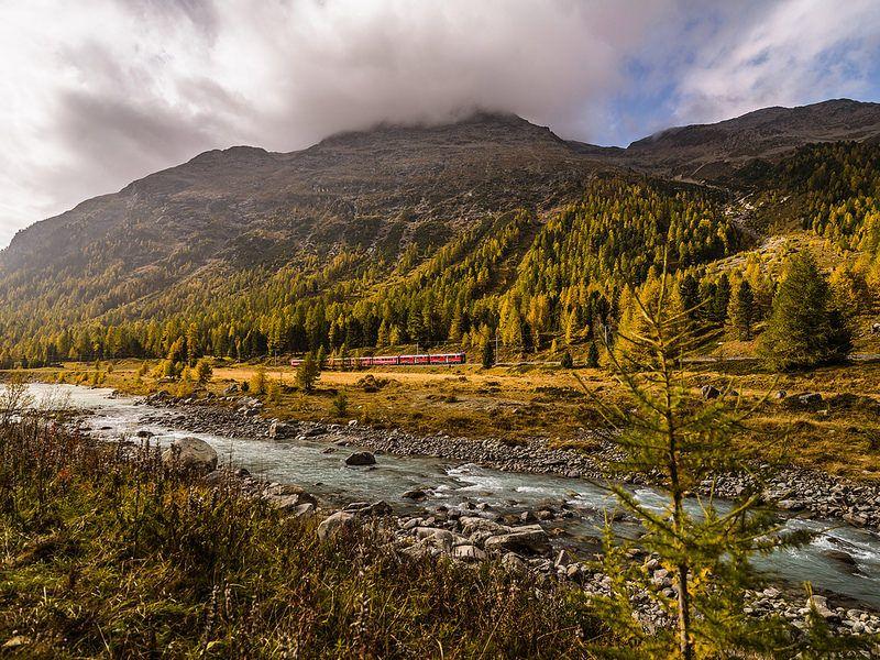 Morteratsch; Berninapass; Oberengadin; Graubünden; Schweiz