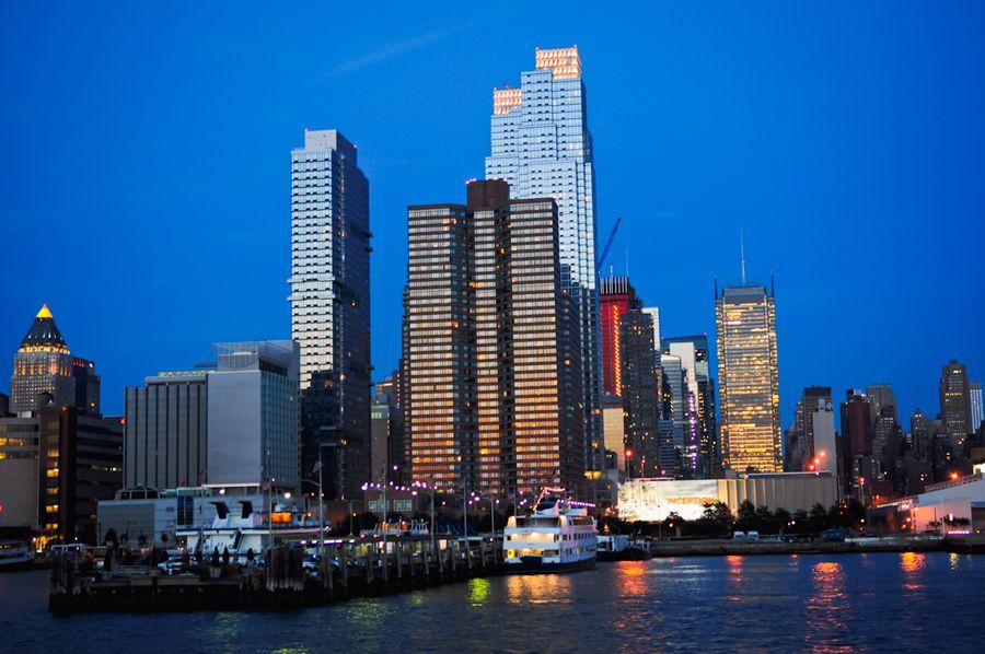 Night time NY