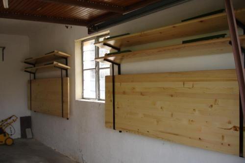 wandhalterung f r festzeltgarnitur biertisch in rheinland pfalz w rth am rhein heimwerken. Black Bedroom Furniture Sets. Home Design Ideas