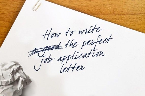 Cover Letter For Applying For A Job How To Write The Perfect Job Application Letterif You're Looking .