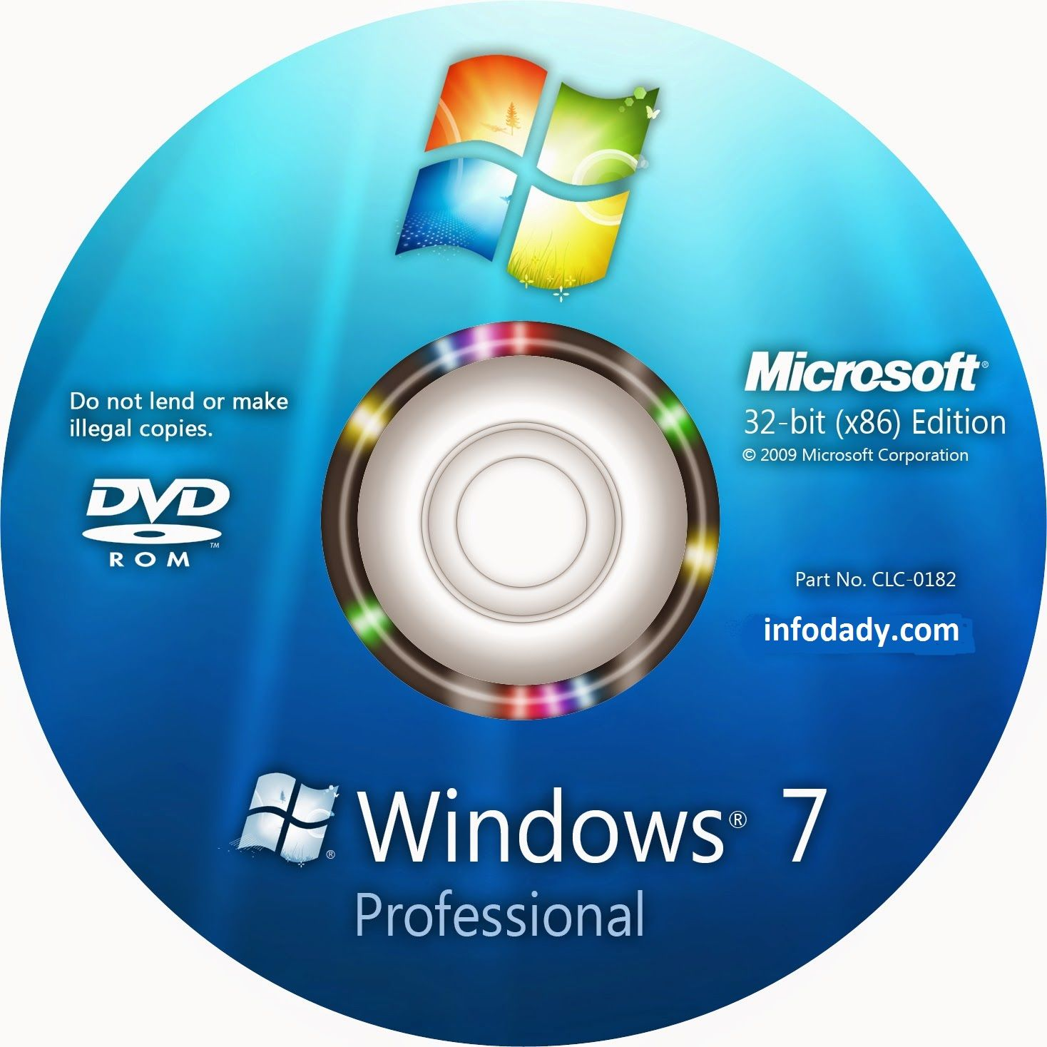 cd key windows 7 professional