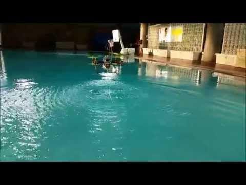 Mire el video del dron que, además de volar, puede nadar Mire el video del dron que, además de volar, puede nadar