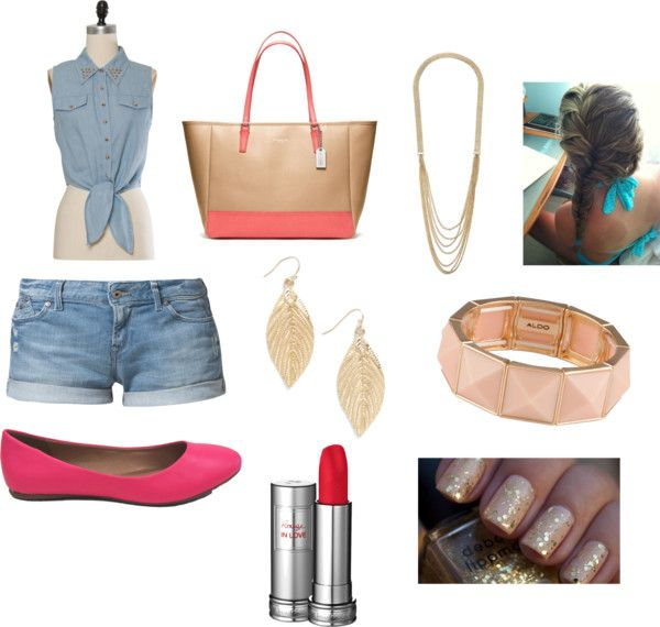 """""""Summer Love"""" by antonellamedina ❤ liked on Polyvore"""