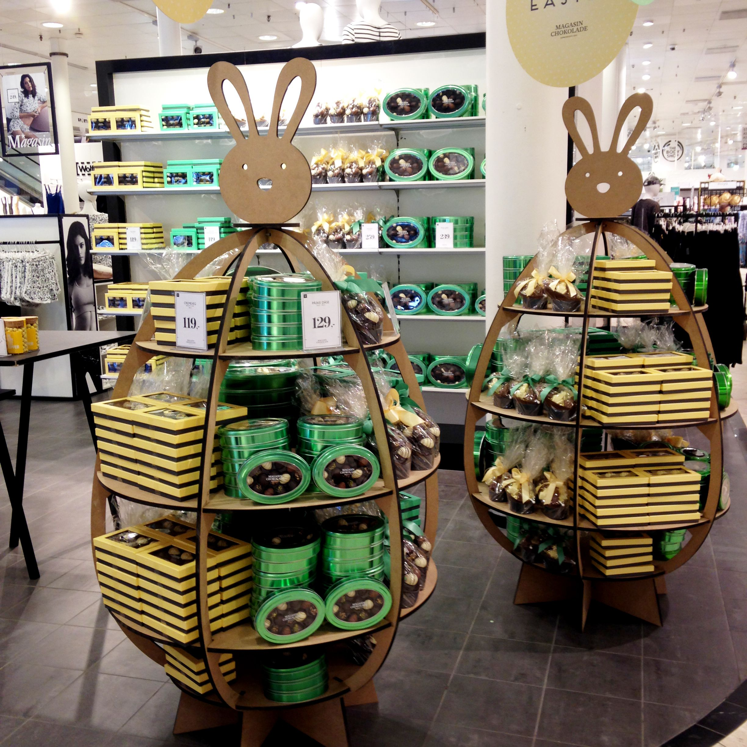 #Easter #Display #Bunny #Retail #Instore #Magasindunord #Magasininstore #Magasinchocolate