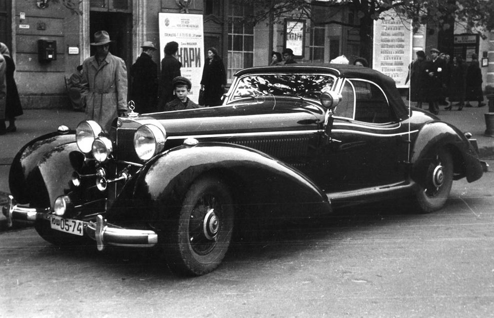 1939 Mercedes Benz 540K Spezial Roadster