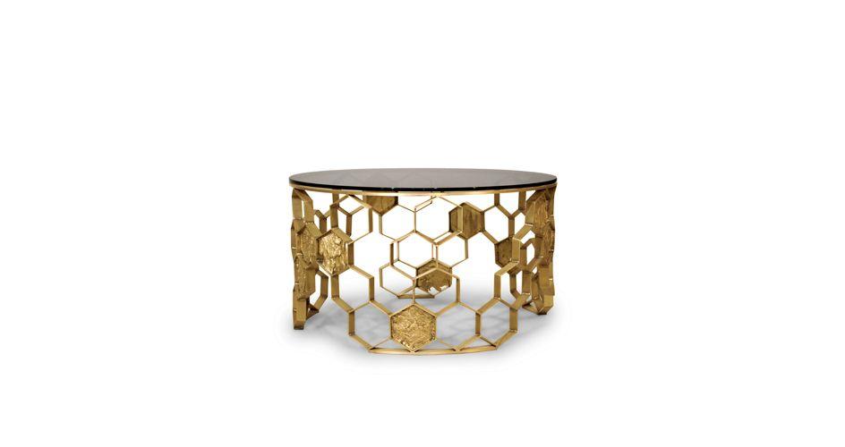 MANUKA | Messing Couchtisch | Wohndesign | Wohnzimmer Ideen | BRABBU | Einrichtungsideen | Luxus Möbel | wohnideen | www.brabbu.com