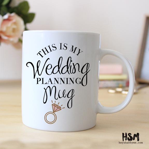 Gift Ideas For Wedding Planner: This Is My Wedding Planning Mug