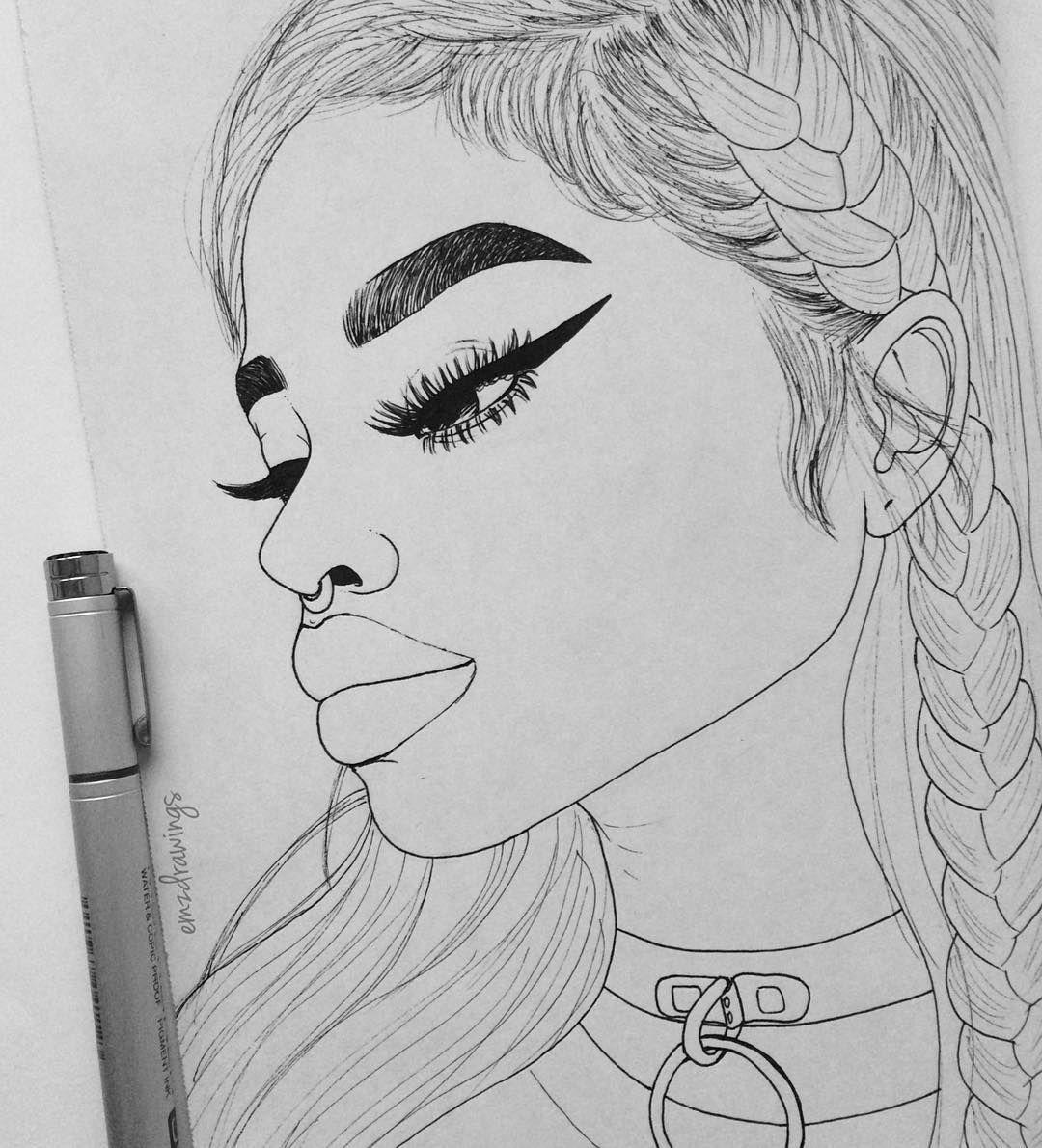 Line Art Instagram : See this instagram photo by emzdrawings k likes
