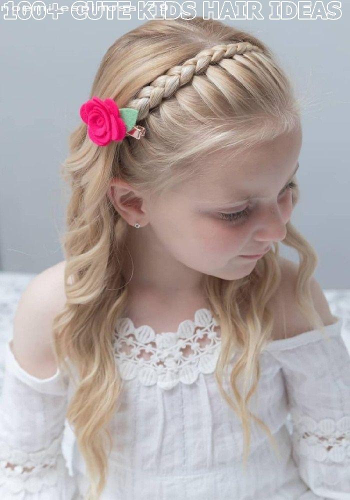 Lovely Kids Braided Hair Ideas For 2020 New Trendy Hair Ideas