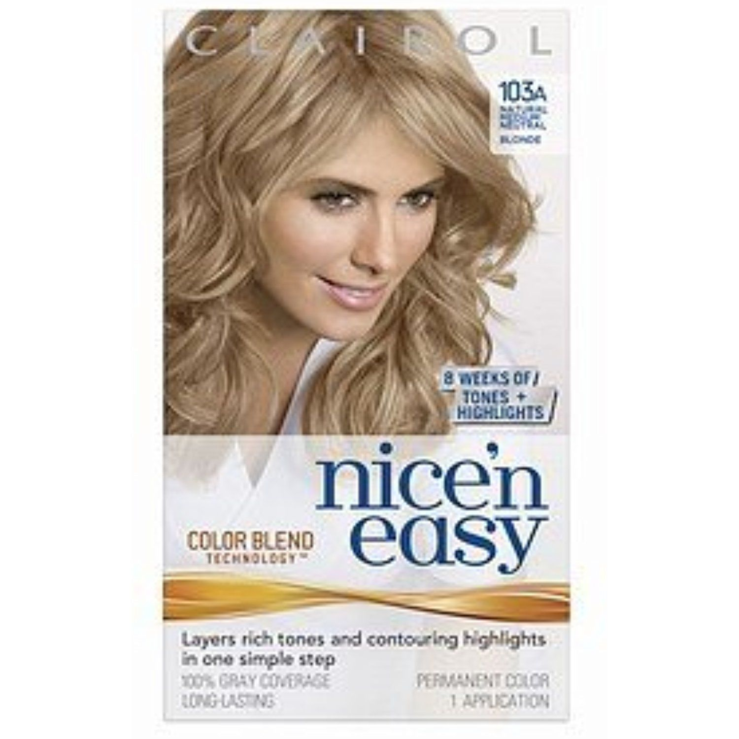 Clairol Nice N Easy With Color Blend Technology Permanent Color