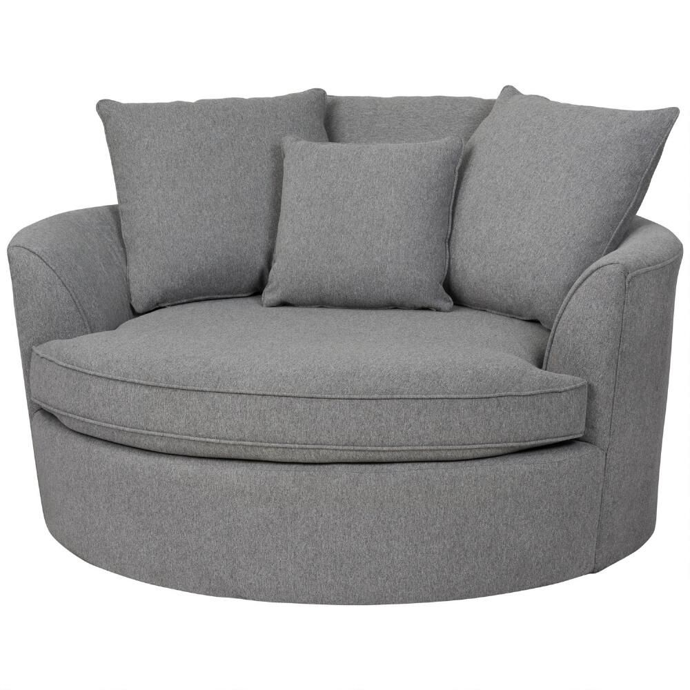 big comfy oversized chairs  Big Round Comfy Chair