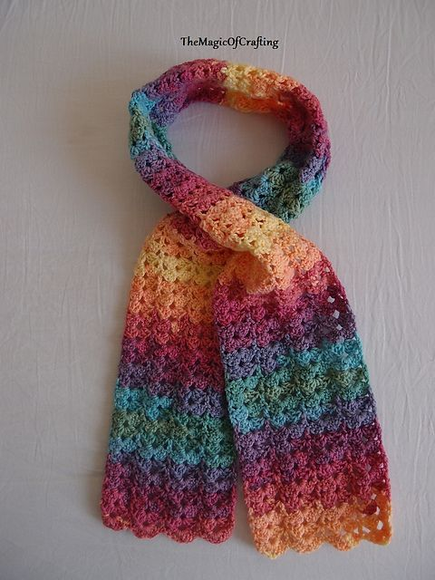 Very Easy To Crochet Pattern That Uses Only Basic Stitches The