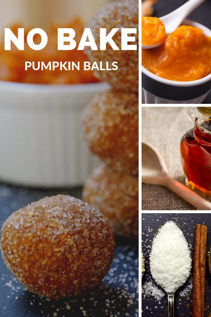 No Bake Pumpkin Balls That Are Totally Guilt Free No Bake Pumpkin Balls are a healthy pumpkin dessert you will love!