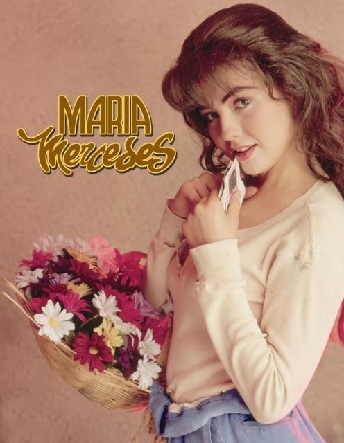 "María Mercedes is a Mexican telenovela directed by Beatriz Sheridan and starring Thalía and Arturo Peniche. It was the first of the ""Marias"" telenovela trilogy, being followed by María la del barrio and Marimar."