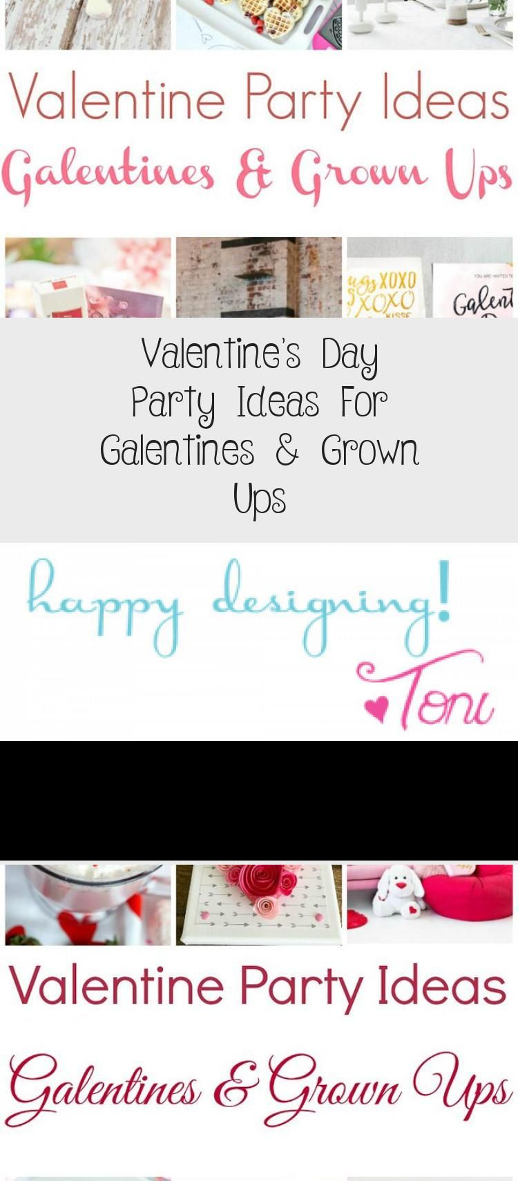 Valentine's Day Party Ideas For Galentines & Grown Ups – Valentines