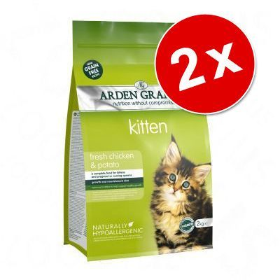 Animalerie Lot Arden Grange Pour Chat Light Poulet Pommes De