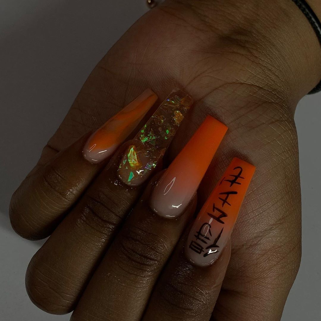 Pin Thelornamorris In 2020 Nails Ombre Nails Nail Designs