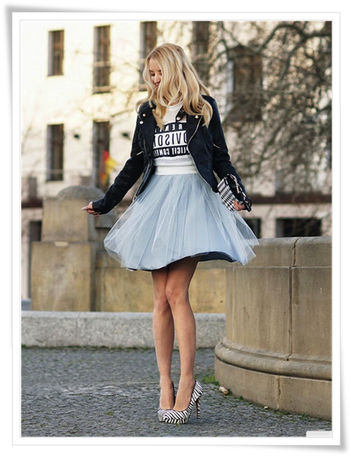 Women's Tulle Tutu Skirt