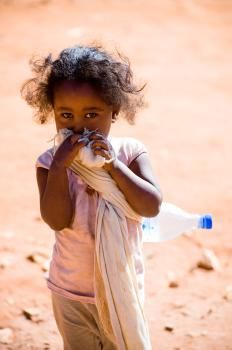 Clean water makes all the difference in the world to children in Ethiopia!