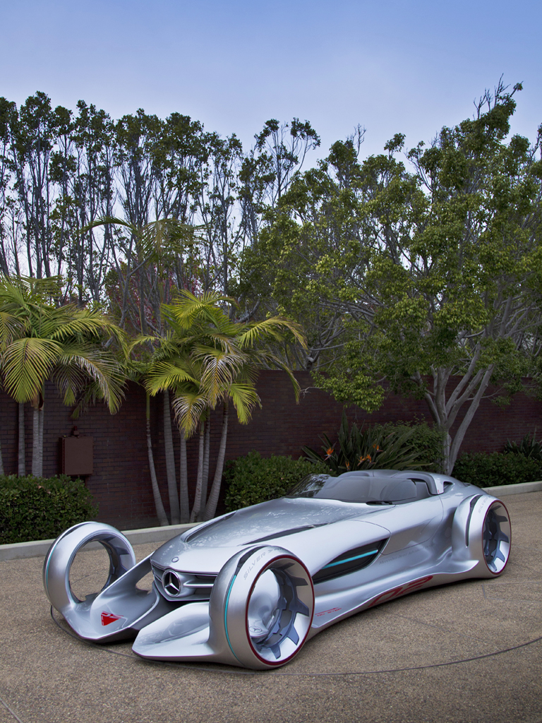 Concept Car Mercedes Benz Silver Arrow The Look Of Things To Come It Almost Looks Like Can Fly Too