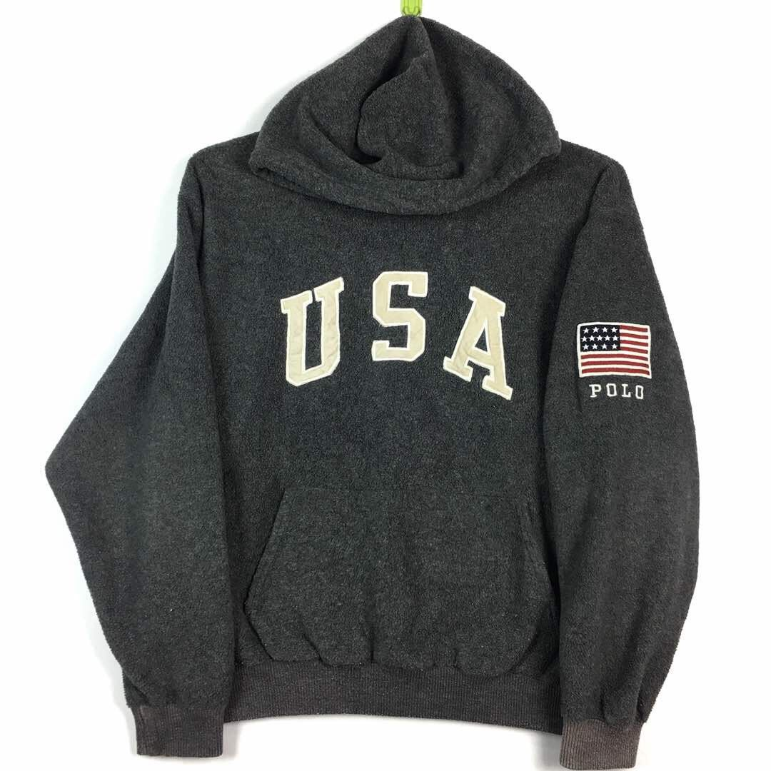 Polo Sport by Ralph Lauren USA Flag Spell Out Embroidery
